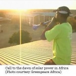 Greenpeace Africa Enables Solar Powered World Cup Viewing Area