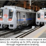 Delhi Metro Receives Carbon Credits for Regenerative Braking