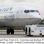 United Airlines Flies First U.S. Commercial Advanced Biofuel Flight
