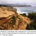 Cutting Specific Atmospheric Pollutants Would Slow Sea Level Rise