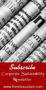 Subscribe Newsletter: Corporate Sustainability