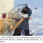 Sunlit Snow Triggers Atmospheric Cleaning, Ozone Depletion in Arctic