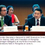 UN and Mongolia Announce Major Partnership during World Environment Day
