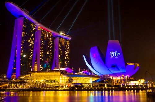 Earth Hour 2014 in Singapore