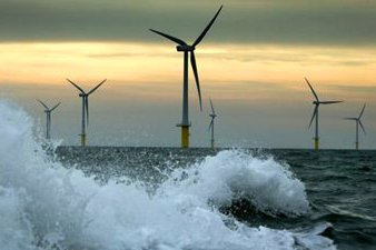Offshore Wind Farm in Storm Surge