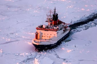 Polarstern in Antarctica