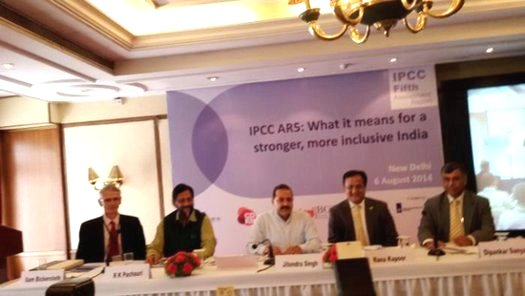 IPCC 5th Assessment Report Launch at New Delhi