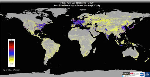 Fossil Fuel CO2 Emissions