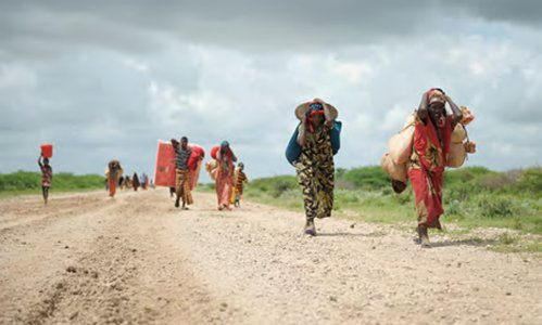 Population Displacement in Somalia
