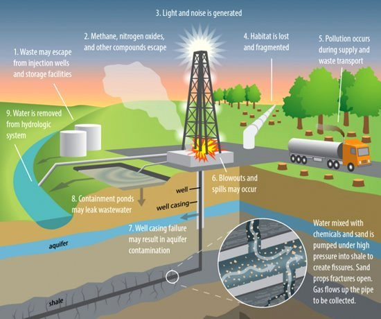 Environmental Impacts of Shale Gas Development