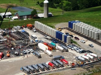 Fracking in Pennsylvania, U.S.