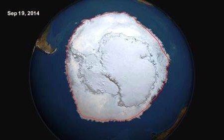 Antarctica Sea Ice Extent