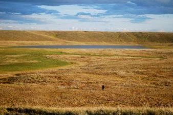 Thawing Permafrost in Siberian Arctic