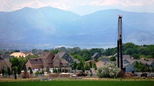 Fracking Rig in Colorado, U.S.