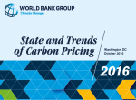 WBG-State of Carbon Pricing Reports 2016