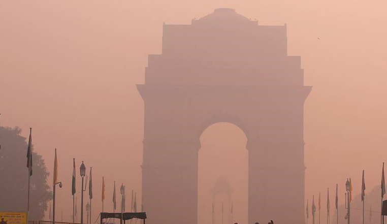 Smog in Delhi Post Diwali