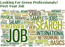 US/UK Green Jobs